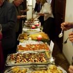 Buffet der Cantina Habilis