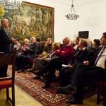 Empfang durch Turmbund Präsident Roland Jordan