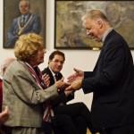Verleihung der Ehrenmitgliedschaft an Dorothea Merl