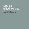 Buchpräsentation mit Lesung 'immer november'