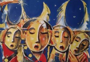 Zyklus der Weihnachtsgeschichte von André Linder